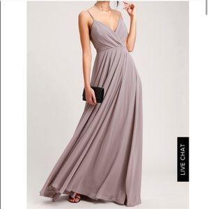 Taupe Maxi Dress NWT